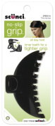Scunci No-slip Grip Double Teeth Jaw Clip, 9cm, Colours may vary