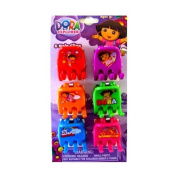 Nickelodeon Dora The Explorer Colourful Hair Clip Set Of 6 - Dora The Explorer Beautiful Hair Accessories