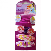 Princess Hair Accessories - Disney Princess Hair Snap Clips Bands