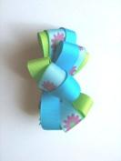 Flower Ribbon Clip