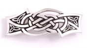 St Justin, Pewter Spider Knot Hair-Slide