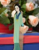 Beauty Luxury Comb, Beautiful Multi Colour Wood Comb (Lw), Hand Craft Boxwood Hair Decorative Comb