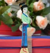 Beauty Luxury Comb, Beautiful Multi Colour Wood Comb (yc), Hand Craft Boxwood Hair Decorative Comb