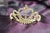 New Beautiful Bridal Wedding Tiara Crown with Crystal Heart DH12109