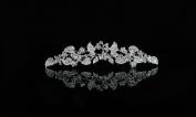 Bridal Wedding Prom Bridesmaids. Crystal Tiara Jewellery Comb Headpiece