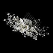 Romana Floral Rhinestones. Crystals Wedding Bridal Hair Comb