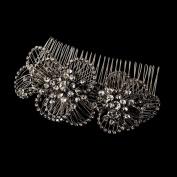 Lorenza Crystal Vintage Wedding Bridal Hair Comb