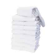 Salon Care Premium White Salon Towels