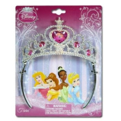 Princess Crown Tiara on Header Card