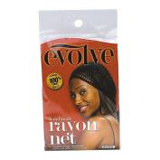 Evolve Black Rayon Hair Net