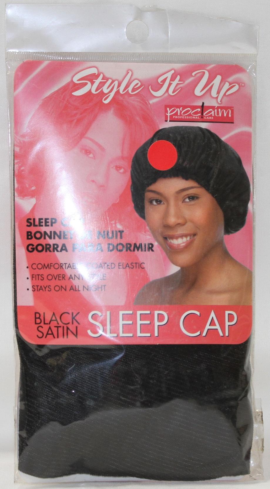 Style It Up Satin Sleep Cap