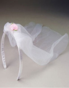Bridal Veil With Rose