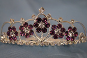(SMALL)Elegant Bridal Wedding Tiara Crown with Crystal Party Accessories DH5764