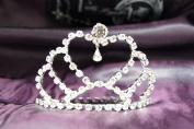 Beautiful Bridal Wedding Tiara Crown with Crystal Heart Party Accessories DH15760