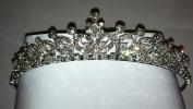 Bridal Wedding Tiara Pearls and Crystals Crown Promo Party 4599