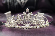 Beautiful Bridal Wedding Tiara Crown with Crystal Party Accessories DH15915