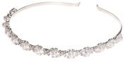 Tiara Headband-Pearl & Rhinestone