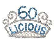 60th Birthday Tiara Sixty-licious