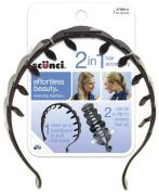 Scunci Effortless Beauty Banana Comb/headband, Colour may vary