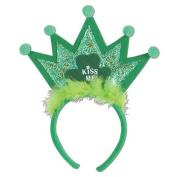 Beistle 30776 Shamrock Tiara Headband - Pack of 12