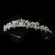 Aisha. Crystal & Rhinestone Wedding Bridal Tiara Headband