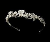 Amedea Floral Bridal Headband Tiara