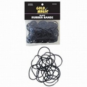 Gold Magic Rubber Bands Black