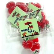 PONY TAIL HOLDER APPLE SOLD IN BAGS OF 6