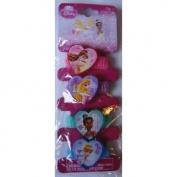 Disney Princess Pony Tail Holders 4 Pcs