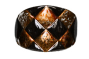 Caravan Checker Board, Ponytail Onyx Stained