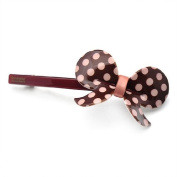 [Aznavour] Lovely & Cute Roly Poly Rounding-Ribbon Pepero Pin / Brown #SPdmp621.