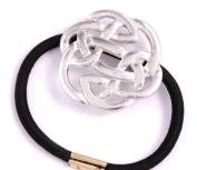 St Justin, Pewter Lugh's Knot Pony-Tail Band
