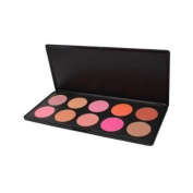 10 Colour Makeup Cosmetic Blush Blusher