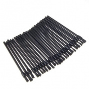 25 x Black Disposable Lip Stick Applicators Brush