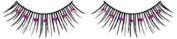 Purple Diamante False Eyelashes 01