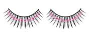 Pink Diamante False Eyelashes 12