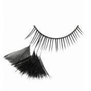 X-Gen Glamour Lashes Black Feather Lashes Deco Mania
