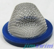 Zodiac 1-1-216 Stainless Steel Dome Strainer Replacement