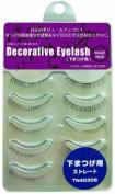 SHO-BI Decorative Eyelash   Eyelash   Under Eyelash Straight 5P