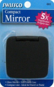 Swissco Compact Mirror, 5x Magnification and Regular Views