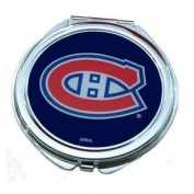 Montreal Canadiens Ladies Compact Mirror w/ Floral Design