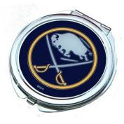 Buffalo Sabres Ladies Compact Mirror w/ Floral Design