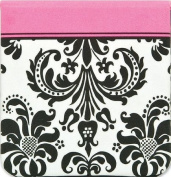 Sophie Compact Mirror - Pink & Damask