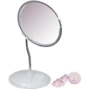 Vanity or Wall Mount Gooseneck Mirror