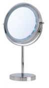 Danielle Enterprises Vanity Mirror 5x, Chrome, 21.6cm X 40.6cm High