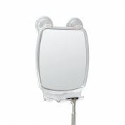InterDesign Power Lock Fog Free Rectangular Mirror, Clear