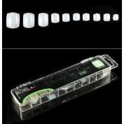 Decori Adoro Acrylic False Artificial Tips Toe Nail 100 pcs