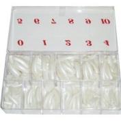NAIL TIP PEARL colour 550PCS / BOX