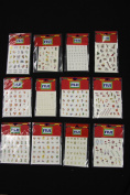 Assorted Nail Decals Package 3