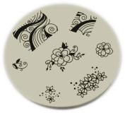 Konad Stamping Nail Art Image Plate - M51